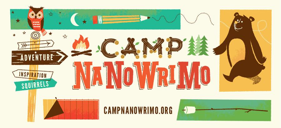 Imagen principal entrada Campamento NaNoWriMo abril 2018 Francisco García Jiménez